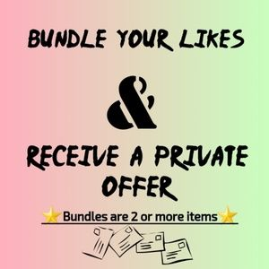 Tops - Save your likes and bundle for private offer